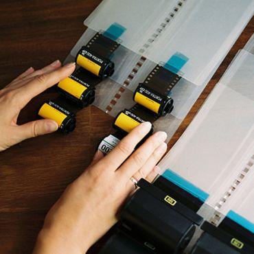 Proses & Scan Film Negatif Warna (C41)